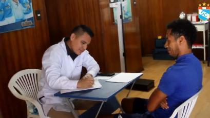 Sporting Cristal: jugadores pasaron por los exámenes médicos para iniciar la pretemporada