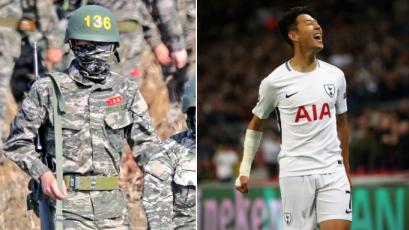 Heung-Min Son cumple con el servicio militar en Corea del Sur: camuflado y con fusil al hombro (FOTOS)