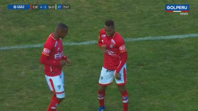 Cienciano venció por 4-2 a Sport Loreto y se ubicó en el segundo lugar de la Liga2