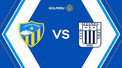 Torneo Apertura: Sport Rosario y Alianza Lima se vuelven a ver caras