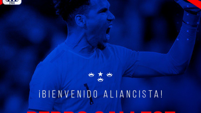 Alianza Lima le da la bienvenida a Pedro Gallese