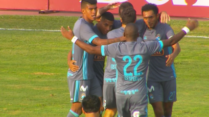 Sporting Cristal venció a Deportivo Municipal con gol de Calcaterra