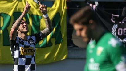 Gustavo Dulanto marcó su primer gol con el Boavista en la Primera División de Portugal (VIDEO)