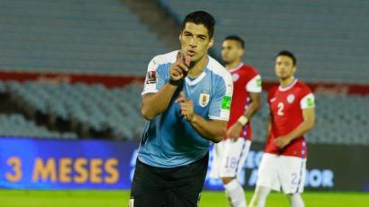 Clasificatorias Sudamericanas: Uruguay consiguió un triunfo agónico por 2 a 1 ante Chile