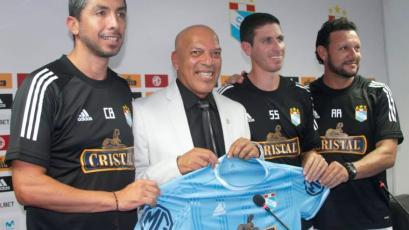 Liga1 Movistar: Roberto Mosquera fue presentado como nuevo técnico de Sporting Cristal