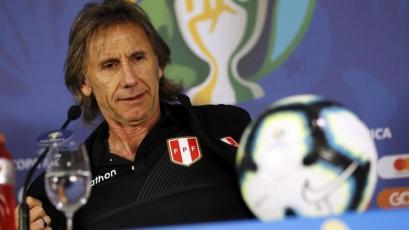 Ricardo Gareca previo al Perú vs Venezuela: