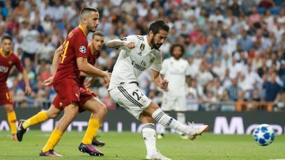 Champions League: Real Madrid se impuso ante la Roma