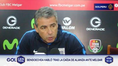 """Pablo Bengoechea: """"El primer gol llegó por un error nuestro"""""""