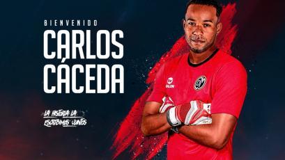 Carlos Cáceda es oficialmente arquero de Deportivo Municipal