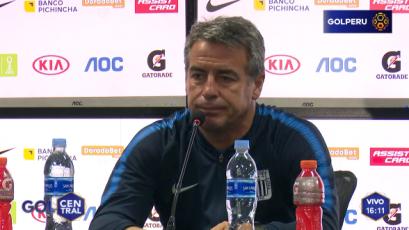 """Pablo Bengoechea: """"Me quedo conforme con el rendimiento del equipo"""""""