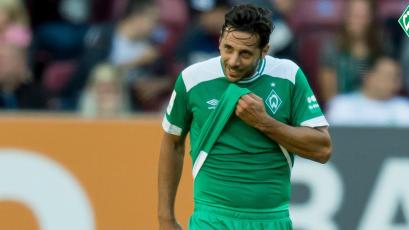 Claudio Pizarro dio asistencia en triunfo del Werder Bremen