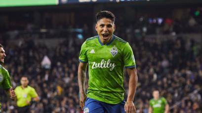 Raúl Ruidíaz marcó en la final de la MLS y salió campeón con el Seattle Sounders