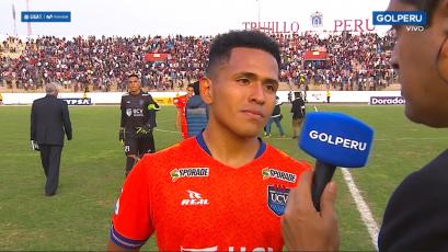 Frank Ysique tras el empate con Universitario: