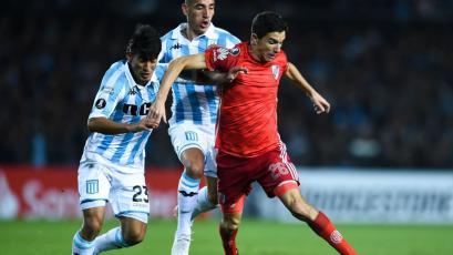 Copa Libertadores: Racing Club igualó sin goles frente a River Plate