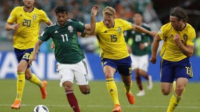 Rusia 2018: México clasificó a octavos de final a pesar de ser goleado por Suecia