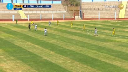 Universidad San Martín venció 2-1 a Comerciantes Unidos