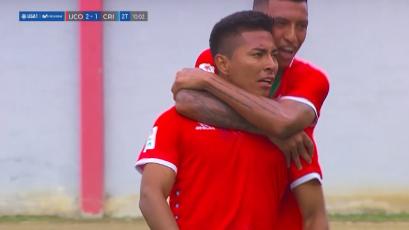 Unión Comercio superó 2-1 a Sporting Cristal y sumó su segunda victoria de la mano de Walter Aristizabal