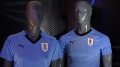 Selección uruguaya presentó indumentaria para Rusia 2018