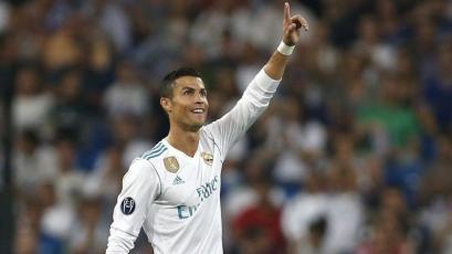 Cristiano Ronaldo llegó a los 100 goles en Europa con el Real Madrid