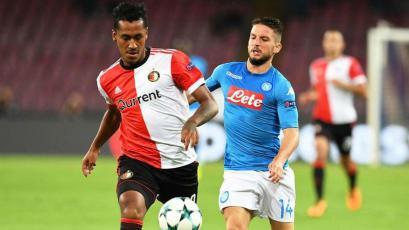 Renato Tapia vuelve al once titular del Feyenoord en la Champions League