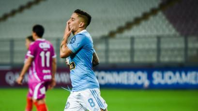 Con doblete de Alejandro Hohberg, Sporting Cristal venció 2-1 a Arsenal por la Copa Sudamericana (VIDEO)