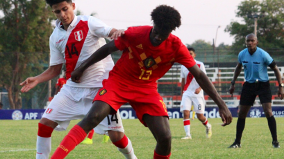 Sudamericano Sub 15: Perú cayó ante Bélgica por la segunda jornada