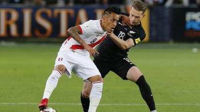 Perú vs Nueva Zelanda: los números de Christian Cueva