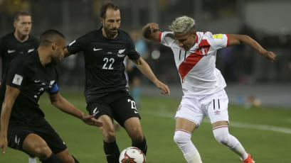 Perú vs Nueva Zelanda: los números de la selección peruana