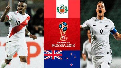 Perú va por el último boleto ante Nueva Zelanda