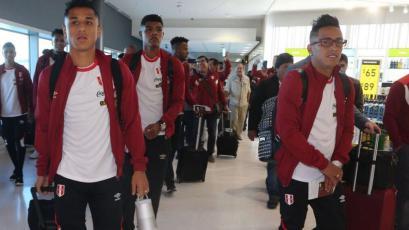 La Selección Peruana ya está en Lima