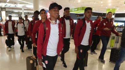 La Selección Nacional llega esta noche a Lima