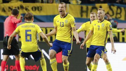 Italia perdió ante Suecia en el primer partido de repechaje
