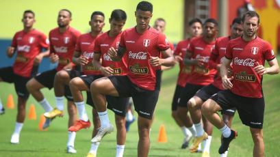 Selección Peruana: jugadores de la Liga1 entrenaron en la Videna