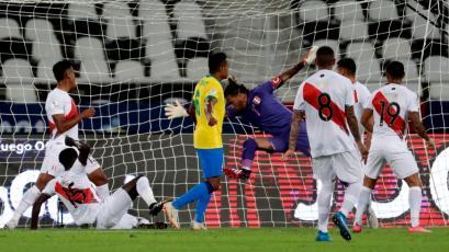 Copa América: así fue el primer gol de la Selección Brasileña ante la Selección Peruana (VIDEO)