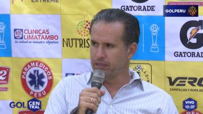 """Carlos Silvestri: """"El equipo se comportó a gran altura"""""""