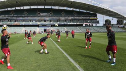 Selección peruana suma su primer entrenamiento