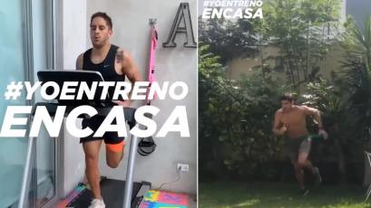 Universitario de Deportes: el riguroso entrenamiento del primer equipo desde casa (VIDEO)