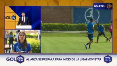 Alianza Lima continúa sus entrenamientos antes del inicio de la Liga1 Movistar