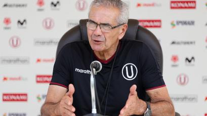 """Gregorio Pérez: """"El plantel no entrenará hasta la semana que viene"""""""