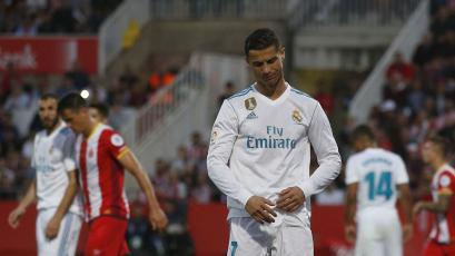Real Madrid tropezó ante el Girona y se alejó de la punta