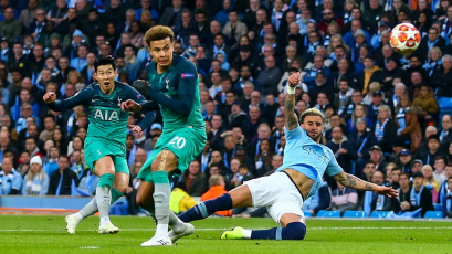 Champions League: récord histórico en el Manchester City vs. Tottenham