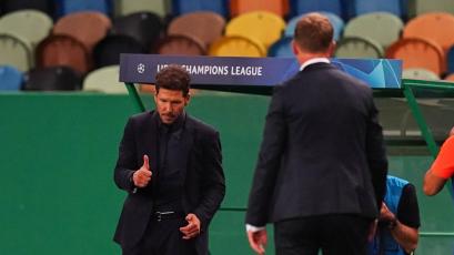 Champions League: Julian Nagelsmann protagonizó un incidente con Diego Simeone