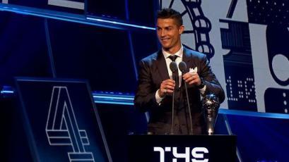The Best 2017: Cristiano Ronaldo fue elegido como el mejor jugador del año