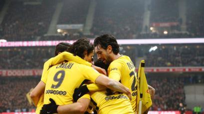 PSG venció sin problemas al Lille (0-3)
