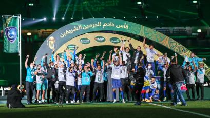 André Carrillo se consagró como campeón de la Copa del Rey de Arabia Saudita con el Al-Hilal