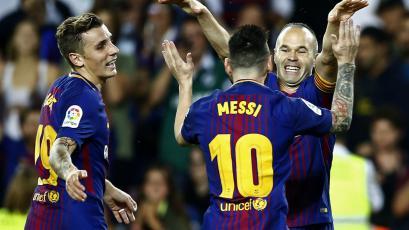 Barcelona ganó y sigue firme en la punta de La Liga