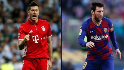 Europa: los máximos goleadores en las grandes ligas del viejo continente