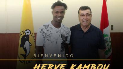 Herve Kambou es nuevo jugador de Academia Cantolao