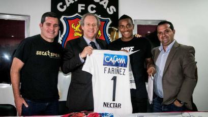 Wuilker Fariñez es nuevo jugador del Millonarios de Colombia