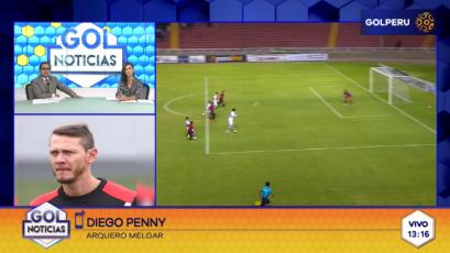 """Diego Penny: """"Sabemos que con siete puntos más estamos en la semifinal"""""""